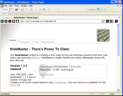 NoteMaster 1.3.3